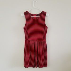Madewell Striped Afternoon Dress Sz M